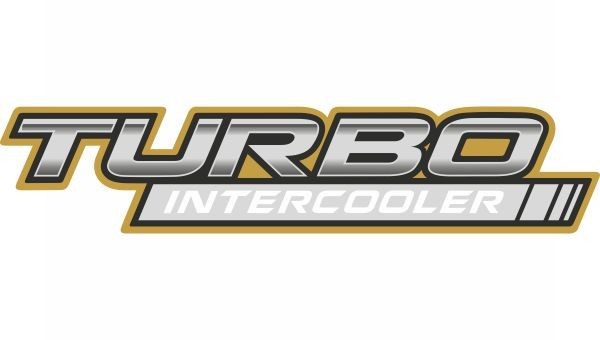 Emblema Turbo Intercooler Toyota Hilux