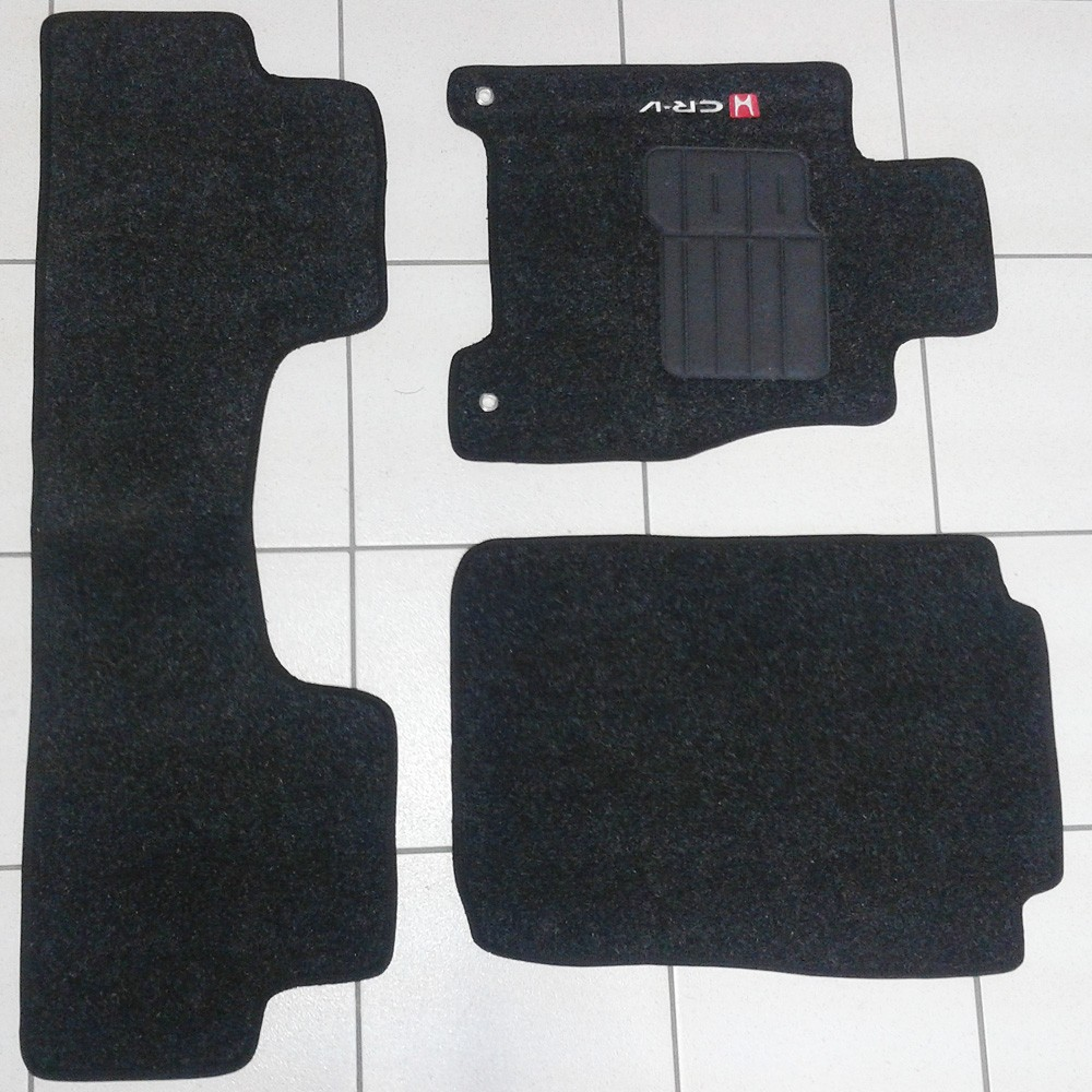 Tapete Automotivo Honda CRV - Original 07 a 11 (Preto)