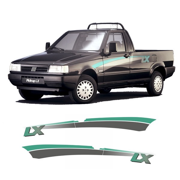 Faixa decorativa Pick-Up LX Verde