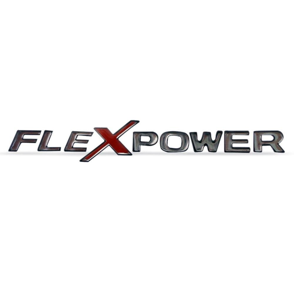 Emblema Flex Power Chevrolet Resinado