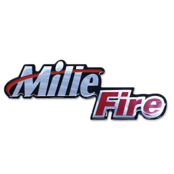 Emblema Mille Fire Resinado