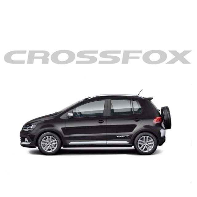 Emblema Decorativo CrossFox 2015 - Prata