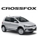 Emblema Decorativo CrossFox 2015 - Preto
